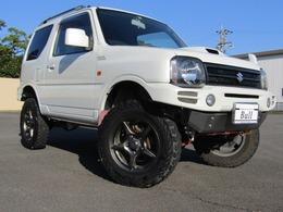 スズキ ジムニー 660 ワイルドウインド 4WD 社外ナビ地デジリフトUP社外FRバンパーAW