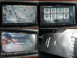 HDDナビ フルセグ ミュージックサーバー バックカメラ ETC装備