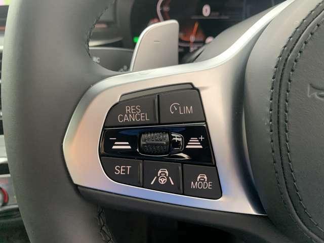 アクティブクルーズコントロールは先行車との車間距離を維持しながら自動で加減速を行い走行をサポートしてくれます。車両停止や再加速も行うので渋滞時の運転負荷の軽減にも貢献します!