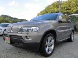 BMW X5 4.4i 4WD バックカメラ HID パワーシート