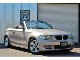 BMW 1シリーズカブリオレ 120i ベージュレザー ナビ ETC HIDライト 16AW
