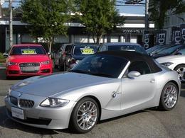 BMW Z4 ロードスター3.0si HDDナビ 黒レザーシート ETC 取説記録簿