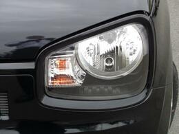ハロゲンヘッドライト装備でナイトドライブも安心です