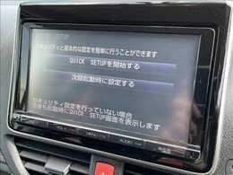【ナビゲーション】フルセグ内蔵のコネクトナビ搭載。DVD再生。