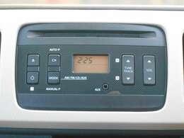 純正CDステレオが付いています!今ではもう当たり前の装備ですが、無くちゃ困りますよね。大好きな曲流して色んな所へ行ってください!