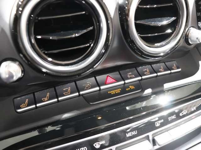 運転席&助手席にはシートヒーター、エアシートを搭載♪更に寒いときでもオープンエアドライブが楽しめるエアスカーフも搭載♪