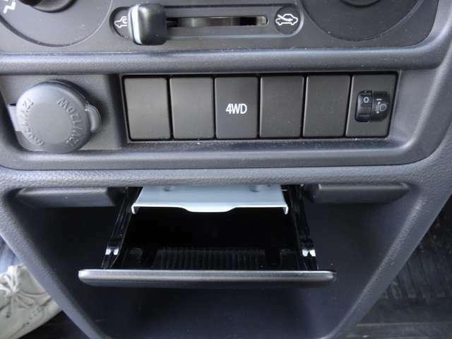 4WDはスイッチポン!!更にしかも禁煙車です
