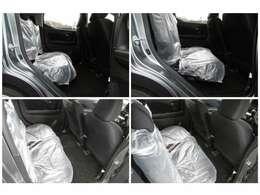 後部座席を畳むと広いスペースが出来ます!状況に応じてのシートアレンジが可能です!