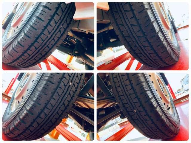タイヤの状態も4輪共に良好です。