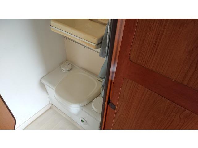 トイレも装備してあるので、お子様には安心ですね。