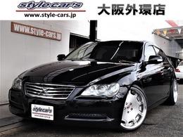 トヨタ マークX 2.5 250G 19インチ車高調新品タイヤ ナビ DVD