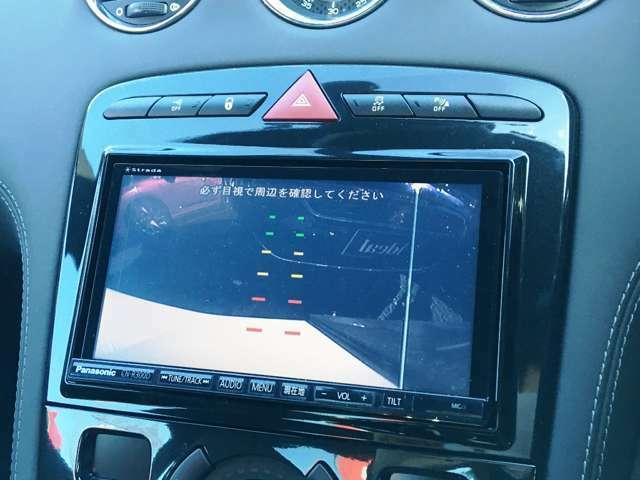 駐車に便利なバックアイカメラ付き!