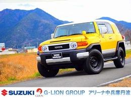 トヨタ FJクルーザー 4.0 4WD ホワイト2トーン ナビ フルセグ Bカメラ