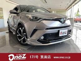 トヨタ C-HR ハイブリッド 1.8 G 禁煙 シーケンシャル モデリスタフルエアロ