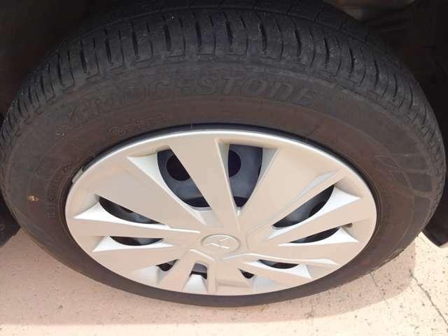 タイヤの溝も多めです!
