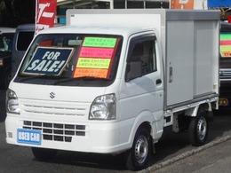スズキ キャリイ 660 保冷車 AT パワステ A/C タイミングチェーン式