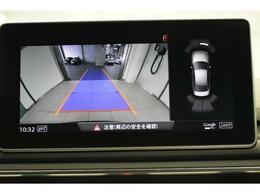 ●リアビューカメラ『入車経路を算出し、ガイドラインと補助線をディスプレイに表示します。同時にバンパーに内蔵のセンサーが障害物を感知し音で注意を促します。後方の死角も安心していただけます。』●B