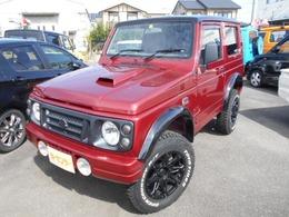 スズキ ジムニー 660 XL 4WD ターボ クロカン仕様 AT車
