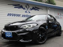 BMW M2クーペ エディション ブラック シャドウ M DCT ドライブロジック 黒革 Mシートベルト ブラックグリル