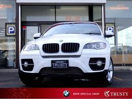 BMW X6 xドライブ 35i 4WD 5人乗り サンルーフ 黒本革 1年保証