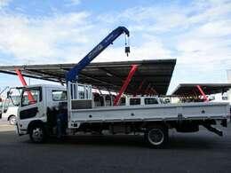 積載2.45トン 車両総重量7985kg