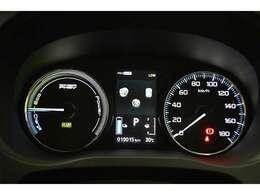 メーター中央の液晶ディスプレイには多彩な走行情報や環境情報を表示してドライバーをサポートします☆