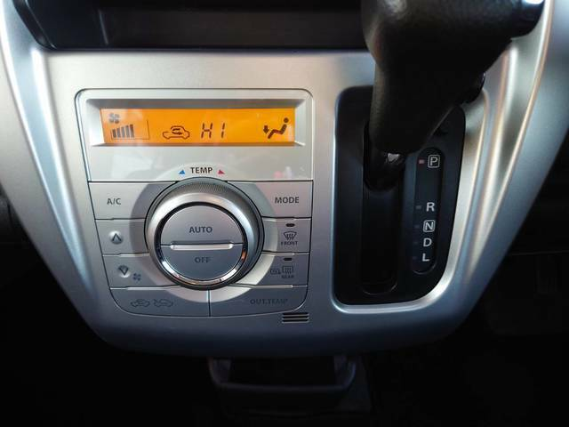 オートエアコンで自分好みの温度・風量に調節OK!