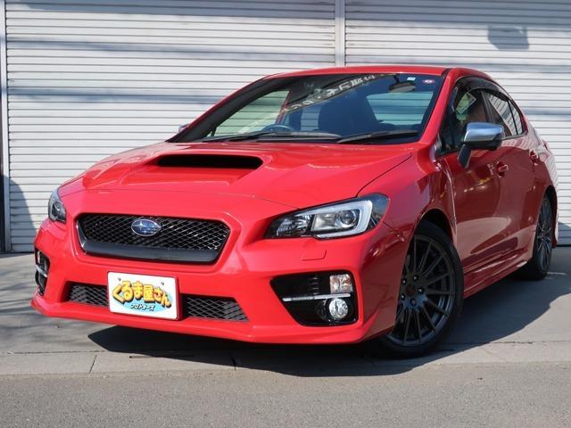 あまり台数の多くない赤色S4です!赤いボディにSTIホイールが映えてます!程度良好オススメ車