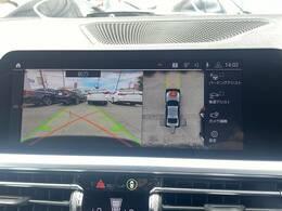 【アラウンドビューモニター】搭載しています。リアの映像がカラーで映し出されますので日々の駐車も安心安全です。