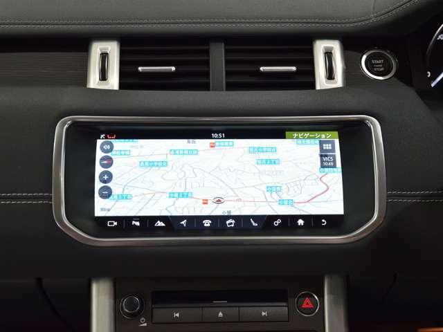 In Control Touch Proを装備いたしました ナビはスマートフォンのように画面を指で操作でき、より直感的に操作可能です