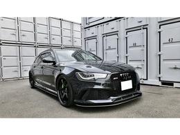 アウディ RS6アバント 4.0 4WD ステッチ 21インチ KW車高調 balanceit
