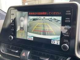 ◆純正8インチディスプレイオーディオ◆全方位モニター&バックモニター【便利な全方位モニター&バックモニターで安全確認もできます。駐車が苦手な方にもおすすめな機能です。】