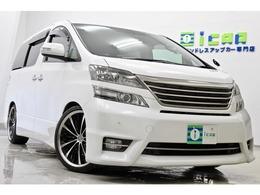 トヨタ ヴェルファイア 3.5 Z プラチナセレクション 4WD 9型BIGX 後席モニター RS-R車高調 20AW