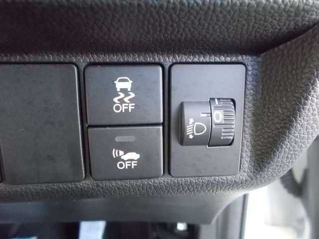 VSA搭載。横滑りを抑えて、安全な走行を確保します。
