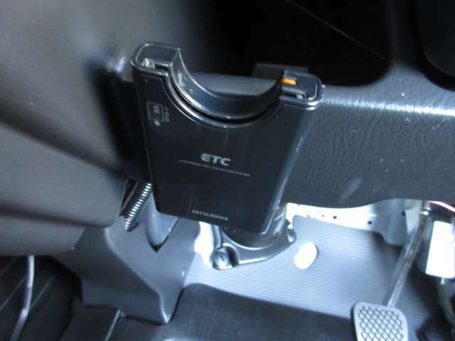 ETC搭載なので高速道路の料金所もスイスイ通過できます☆また、ETC割引のある高速道路もあるのでお財布にも優しいです☆
