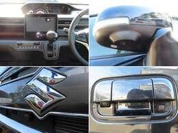 車の前後左右に4つのカメラを設置 別売対応ナビを組合せれば車を真上から見たような映像を映し出す全方位モニターになります。