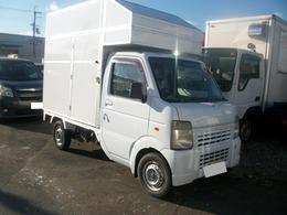 マツダ スクラムトラック 660 KC スペシャル 3方開 キッチンカー 移動販売車 フードトラック