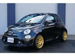 ゴールドビューティライン ABARTH サイドステッカー(ゴールド) 限定車ロゴプレート(センターコンソール)Scorpioneoro エンブレム(リア)