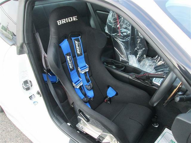 ◎運転席はBRIDE製バケットシートが装着され4点も装着しています!!