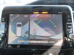 純正9型SDナビ付き♪ ガイド線付バックカメラで駐車も安心ですね♪ 純正アラウンドビューカメラにて死角もなく安心ですね♪