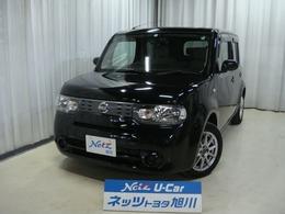 日産 キューブ 1.5 15X FOUR 4WD 寒冷地仕様・ナビ・Bカメラ・冬タイヤ付