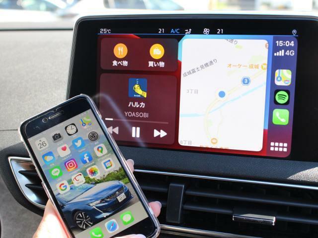 スマートフォンをつなげて対応アプリの使用可能。純正ナビ、ETC装着済み。既存のモニターでタッチ操作出来ます。