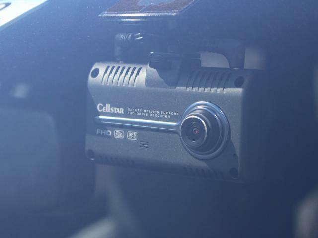 純正オプションセルスタードライブレコーダー装備