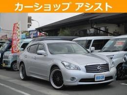 日産 フーガ 3.7 370GT 革シート純正マルチ インテリキー ドラレコ