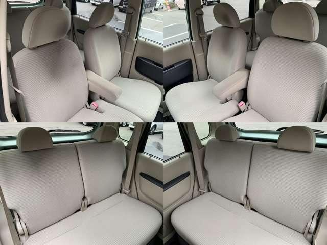 ☆シートはゆったりと乗ることができるベンチシートになっています。