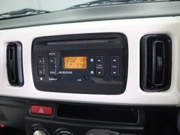CD・ラジオ付きオーディオで、ご納車当日から退屈しません
