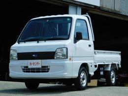 スバル サンバートラック 660 TB 三方開 4WD ミッション車 エアコン パワステ
