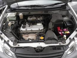 2リッターレギュラー仕様エンジン。