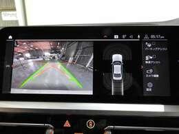 リアビューカメラと前後障害物センサー(PDC)装備、さらにパーキングアシスト付きで、駐車をサポート。