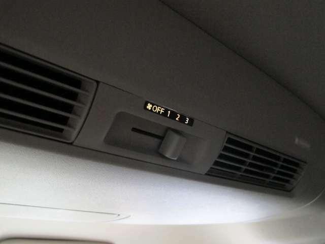 後席もエアコン風量調節できます!